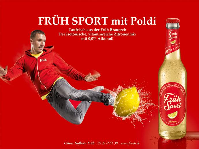 Podolski Werbung